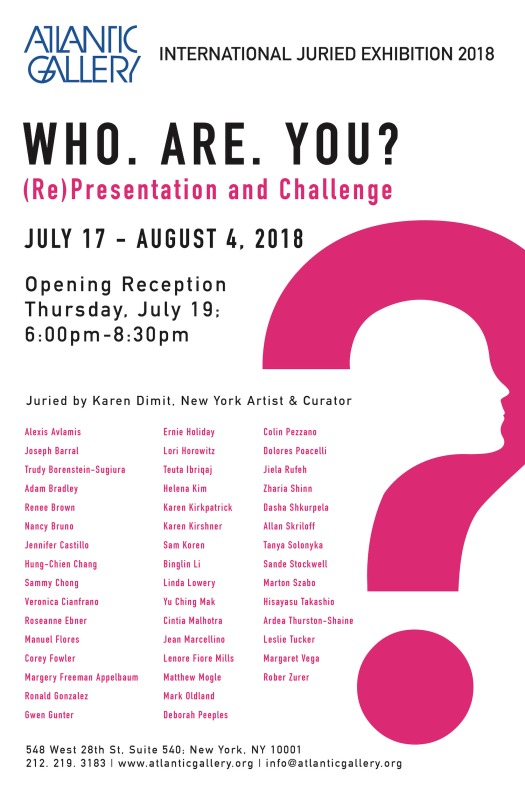Atlantic Gallery Juried Exhibition 2018 -Who Are you -02.jpg